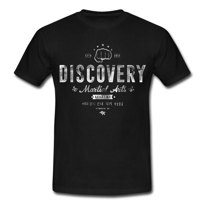 Discovery distressed t-shirt