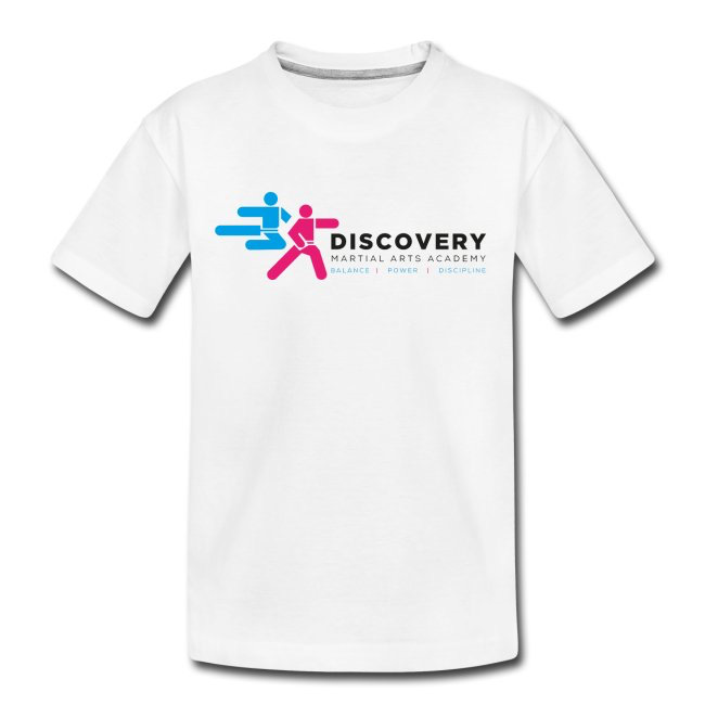 Teen White Discovery T